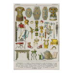 Accesorios romanos póster