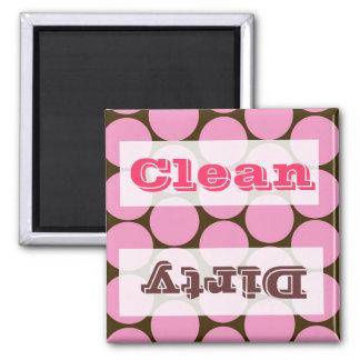 Accesorios rosados de la decoración de la cocina d imán cuadrado