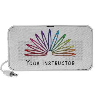 Accesorios temáticos furtivos de la yoga altavoz de viaje