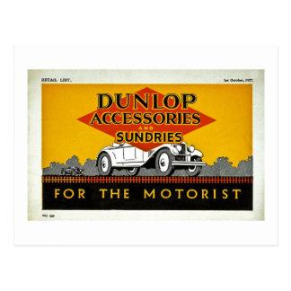 Accesorios y misceláneas de Dunlop para el Postal
