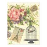 Accesorios y regalo elegantes lamentables de París Postales