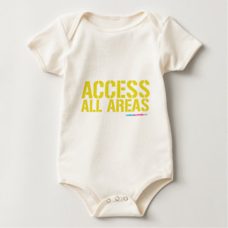 Access All Areas Baby Bodysuit
