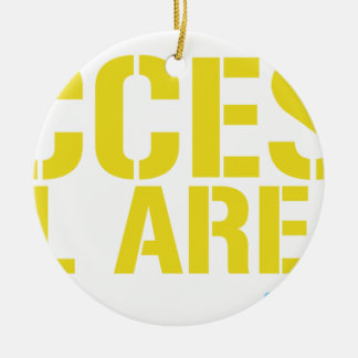 Access All Areas Ceramic Ornament