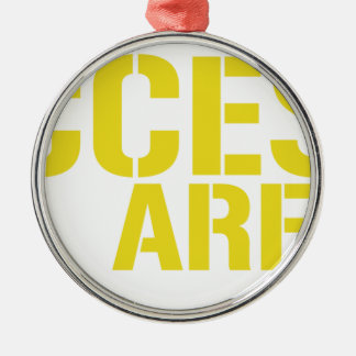 Access All Areas Metal Ornament