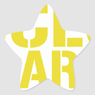 Access All Areas Star Sticker