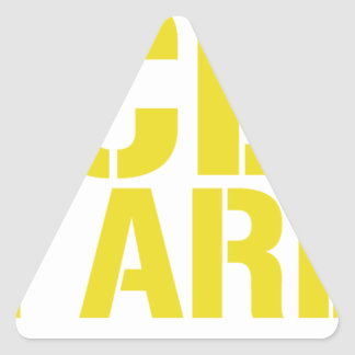 Access All Areas Triangle Sticker