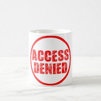 access denied classic mug