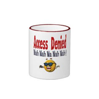 Access Denied Ringer Coffee Mug