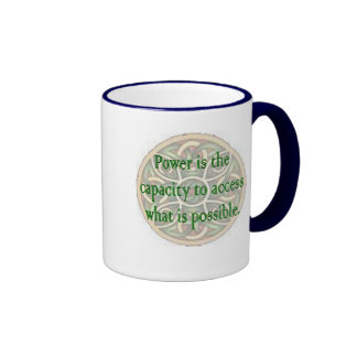 Access Power Capacity Ringer Coffee Mug