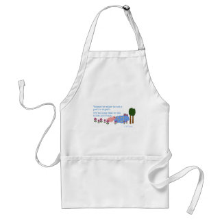 access to water is not a human right.png adult apron