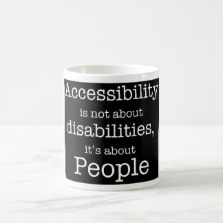 Accessibility = People Mug