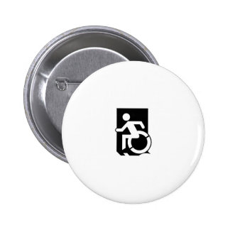 Accessible Means of Egress Icon Exit Sign Buttons