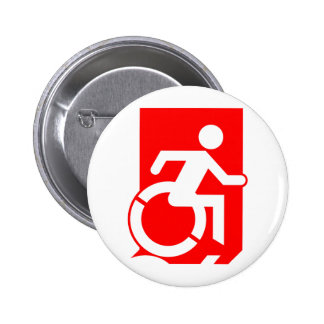 Accessible Means of Egress Icon Exit Sign Badges