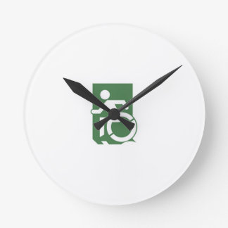 Accessible Means of Egress Icon Exit Sign Clocks