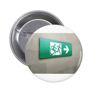 Accessible Means of Egress Icon Running Man Exit Buttons
