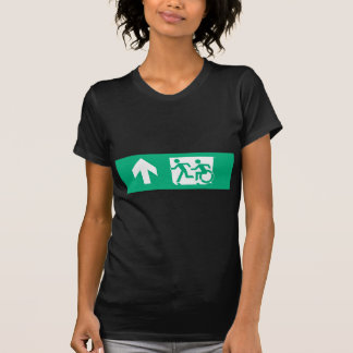 Accessible Means of Egress Icon Running Man Exit Tees