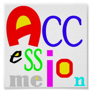 Accession Me Poster