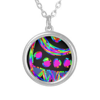 accessorie silver plated necklace