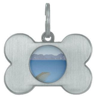 accessories landscapes vector pet name tag