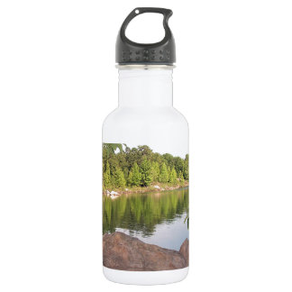 Accessories/Office/Landscape-Cloned rock. Stainless Steel Water Bottle
