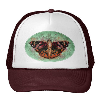 Accessories - Painted Lady Mesh Hat