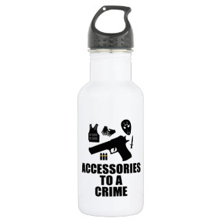Accessories to a Crime Water Bottle