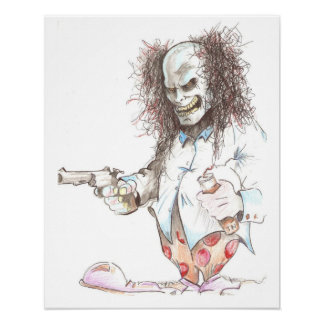 AcCiDeNt ArT 'Clowns Of A Different Nature' Poster