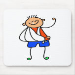 Accident Kid Mouse Pad