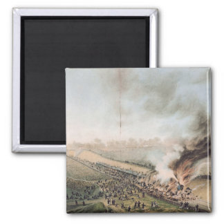 Accident on the Versailles to Bellevue Railway Refrigerator Magnet