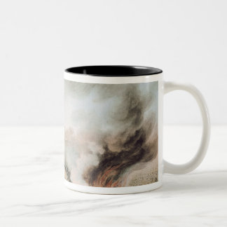 Accident on the Versailles to Bellevue Railway Two-Tone Coffee Mug
