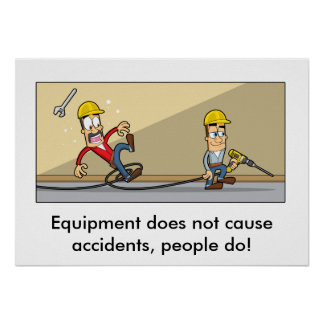 Accident Prevention 001 Poster