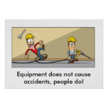 Accident Prevention 001 Posters