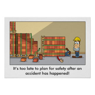 Accident Prevention 003 Poster