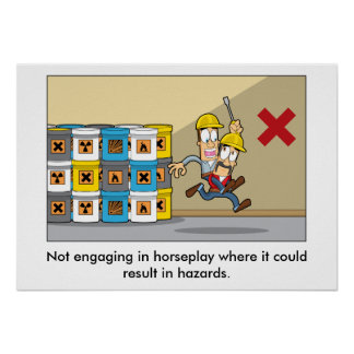 Accident Prevention 005 Poster