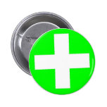 Accident Prevention Pinback Buttons