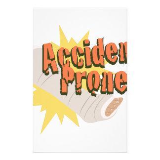 Accident Prone Leg Stationery