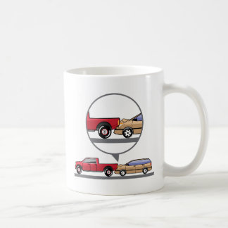 Accident Truck and Wagon Suv Wreck Coffee Mug