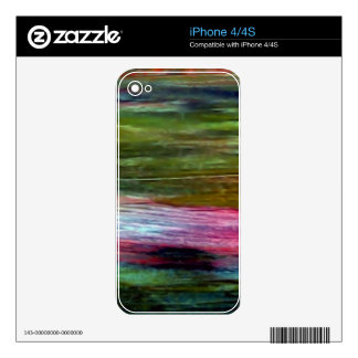Accidental Art Decal For iPhone 4