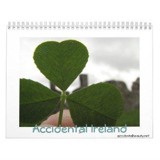 Accidental Ireland 2009 calendar