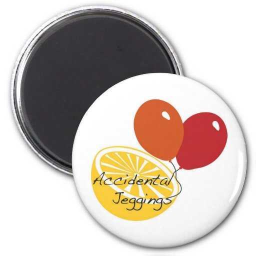 Accidental Jeggings Production Products 2 Inch Round Magnet