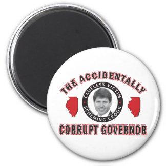 Accidentally-Corrupt-2 2 Inch Round Magnet