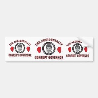 Accidentally-Corrupt-2 Bumper Sticker
