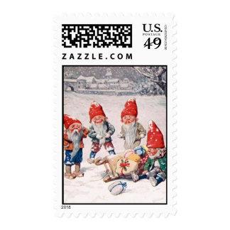 Accidente de la entrega sellos