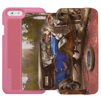 Accidente de tráfico - salió en ninguna parte de funda billetera para iPhone 6 watson