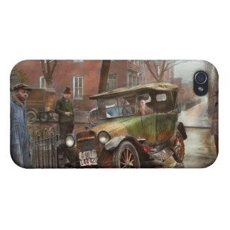Accidente de tráfico - salió en ninguna parte de iPhone 4/4S fundas