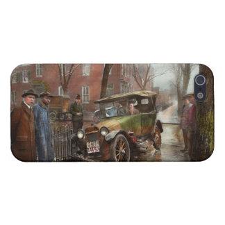 Accidente de tráfico - salió en ninguna parte de iPhone 5 carcasas