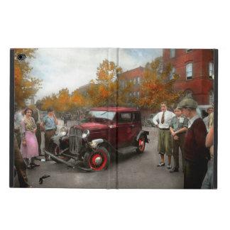Accidente de tráfico - tarde por el tiempo 1932 de