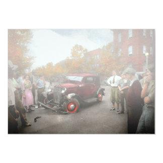 """Accidente de tráfico - tarde por el tiempo 1932 de invitación 5"""" x 7"""""""