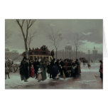 Accidente del autobús de París Tarjeta De Felicitación