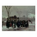 Accidente del autobús de París Tarjetas Postales